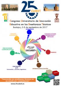 [:es]XXV edición del CUIEET[:] @ Escuela de Ingenierías Industriales de la Universidad de Extremadura | Badajoz | Extremadura | España