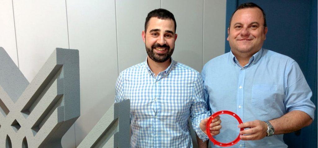 Manuel Espinosa y Francisco Mena pasan a la final del Desafío de Selección de Materiales 2018