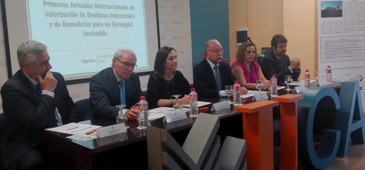 I Jornadas de Valorización de Residuos Industriales y de Demolición para un Hormigón Sostenible en la EPS de Algeciras