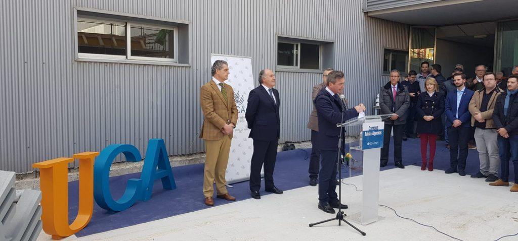 La UCA avanza en la construcción de la nueva Biblioteca del Campus Bahía de Algeciras