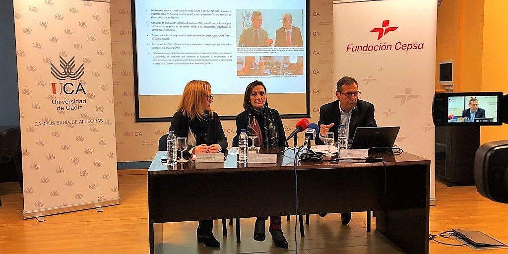 La Cátedra Fundación Cepsa presenta en la EPS su memoria del 2018