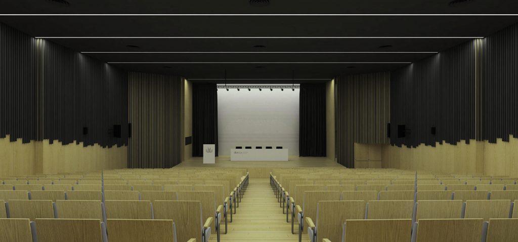 Comienza las obras de remodelación y mejora integral del salón de actos de la EPS de Algeciras