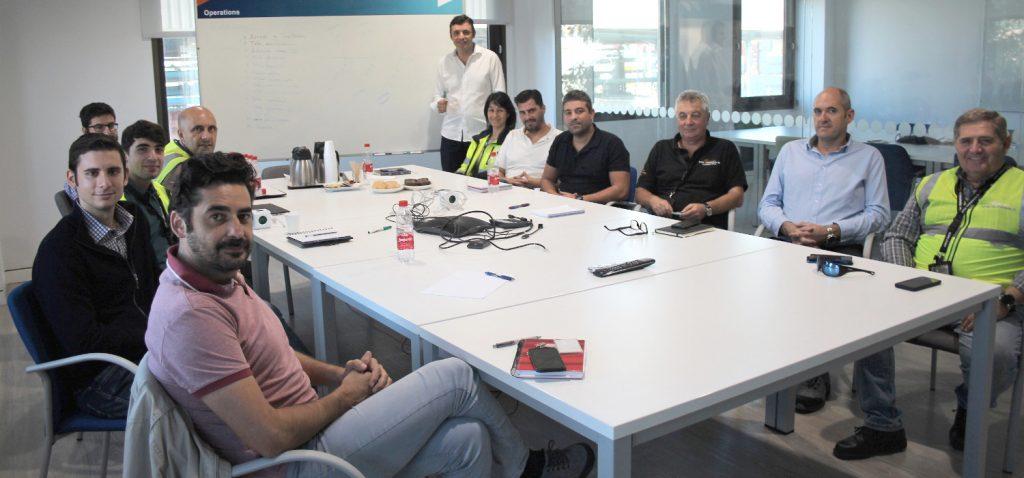 La EPS de Algeciras y APM Terminals buscan colaborar en mejoras sobre 'lean manufacturing'.