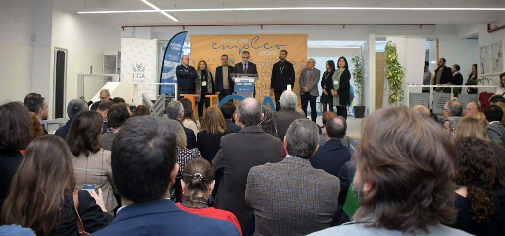 Más de 1.000 jóvenes universitarios participan en la Feria de Empleo de la UCA en la EPS de Algeciras