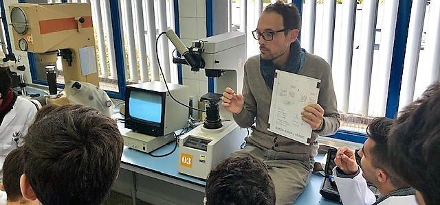 La EPS de Algeciras recibe al alumnado de bachillerato tecnológico del IES Getares