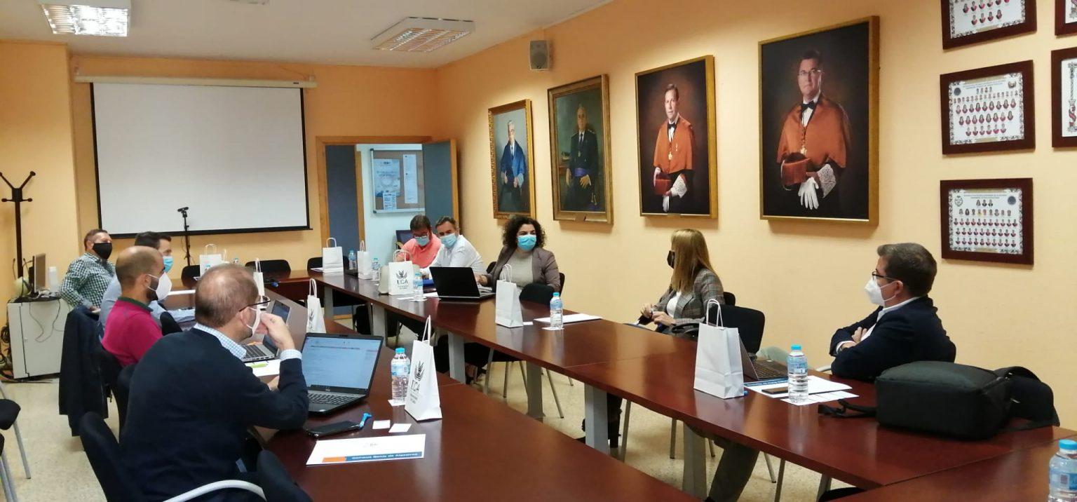El Campus Bahía de Algeciras acoge una reunión con el grupo de trabajo CIL 4.0 de la Agencia Idea