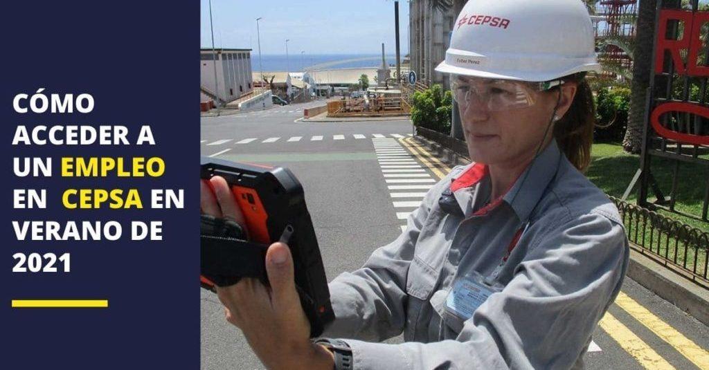 La compañía Cepsa publica nuevas oportunidades de empleo a través de su página web en diferentes ...