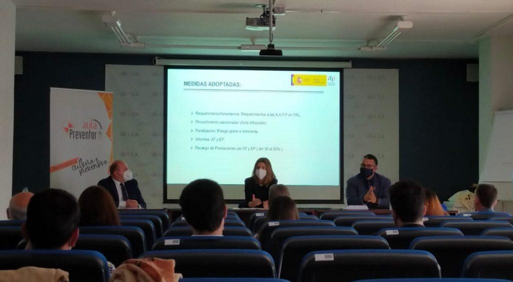 La Universidad de Cádiz y Preventor clausuran el Máster en Técnico Superior de Prevención de Ries...